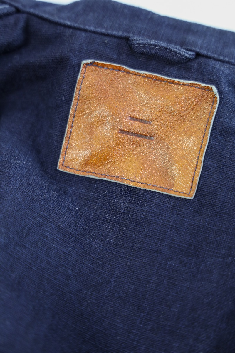 "YOUJKT 25oz ""Yoroi"" Heavy Canvas Utility Indigo  Jacket,, large image number 9"